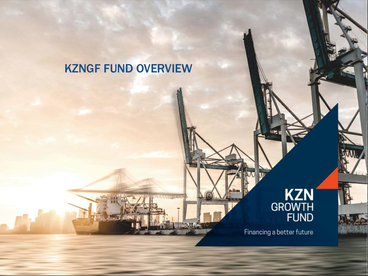 Funding Opportunities KZN Growth Fund