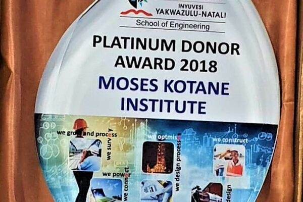 Platinum Donor Award 2018 – MKI