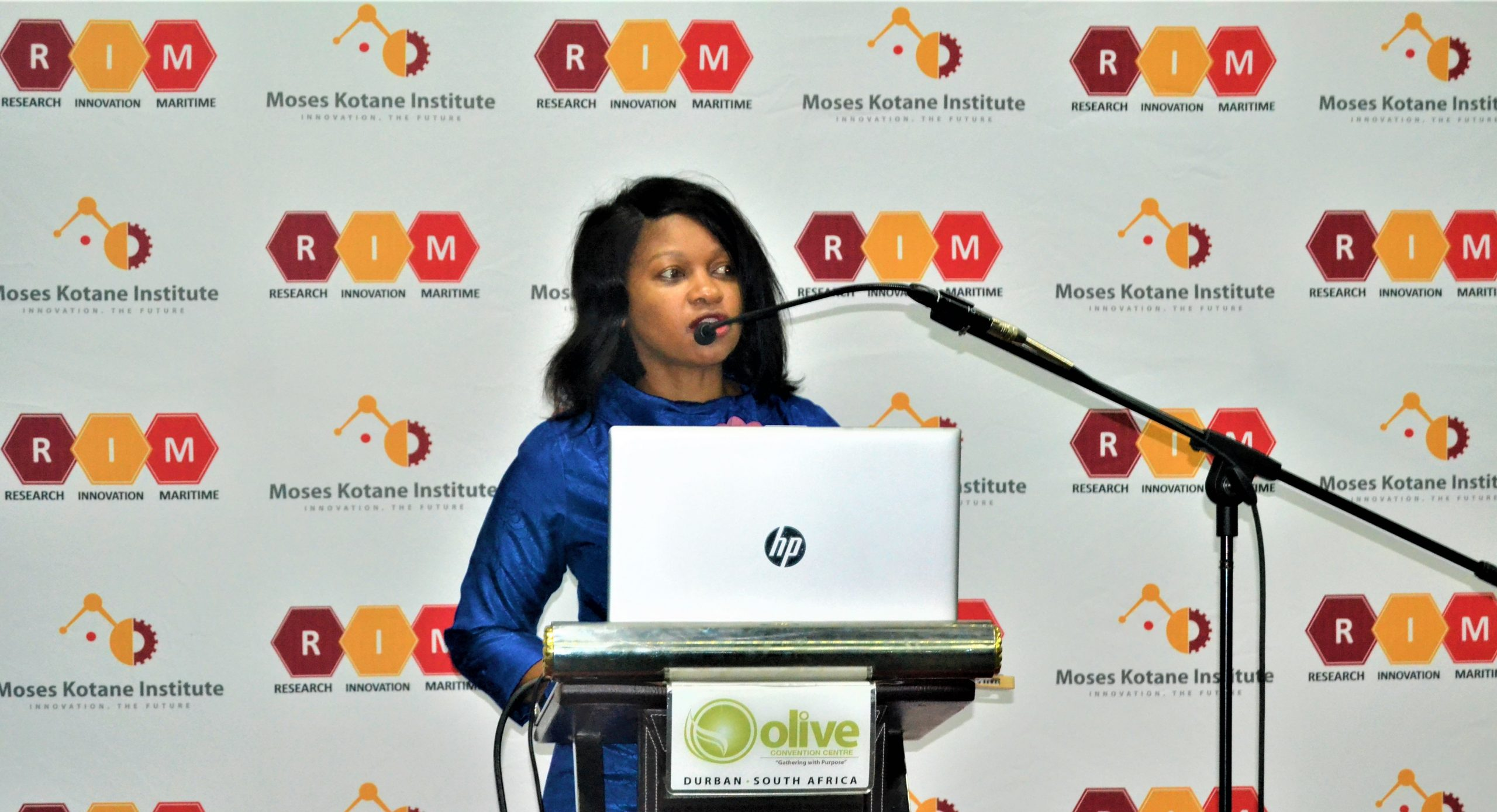 Thandeka Ellenson of Moses Kotane Institute at the KwaZulu-Natal Agro-Processing Sector Forum