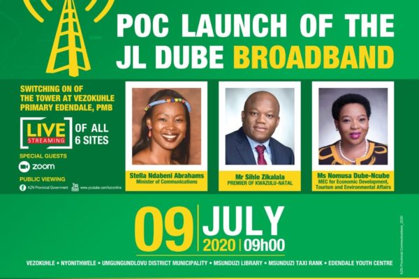 JL Dube Broadband Launch